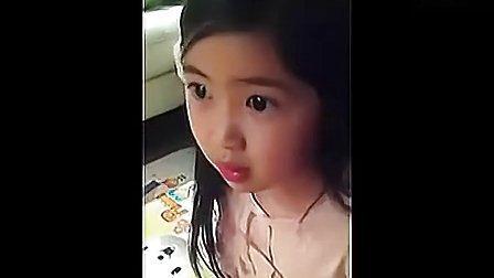 韩国道歉小萝莉: 与妈妈讨论电影