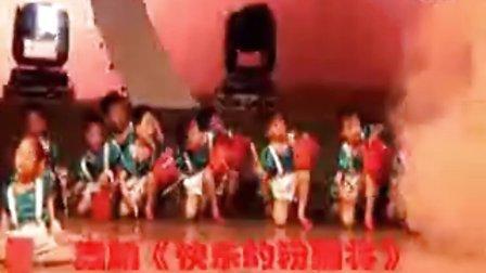 大丰市明达幼儿园舞蹈{快乐的粉刷匠}表演:大一班