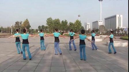 靖江韵律广场舞--幸福爱河