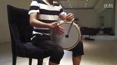 换了土耳其的鼓皮之后 我的dohola 低音 中东鼓 是不是整鼓个精神了许多!?