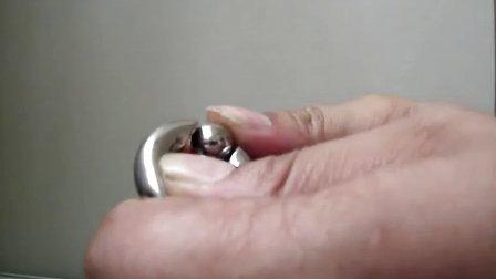 钛钢 阴环 PA环不需要工具就能拆卸