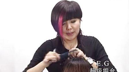 沙宣长发 女士长发剪发 发型修剪 修剪刘海