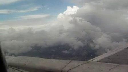 飞机在高空的视频
