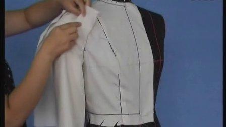 10花瓣袖的立体裁剪 服装设计教程 服装设计专科学院 裙装剪裁