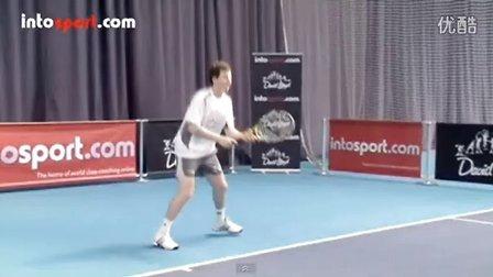 网球反手切球动作 Tennis Backhand Slice