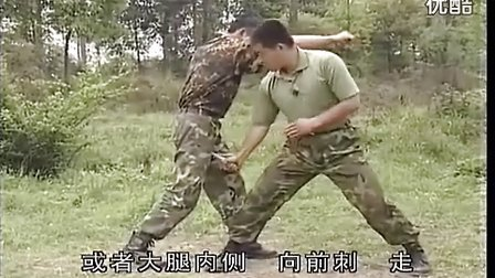 刘毅 特种兵搏击擒拿训练 侦察兵捕获刀实战应用