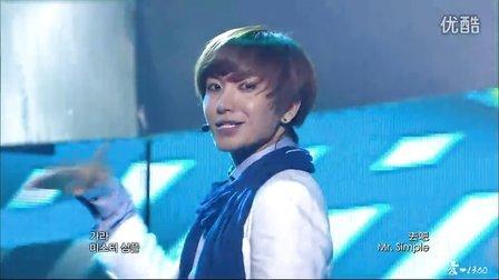 【爱·1380】110827.MBC.MusicCore.SuperJunior.Mr.Simple