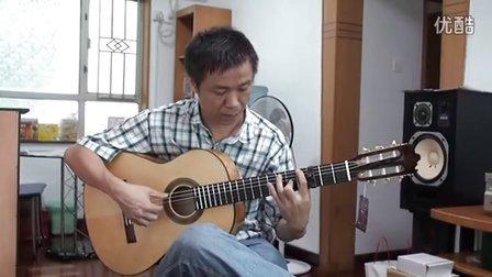小蒋吉他面侧单板高级练习琴 索利亚