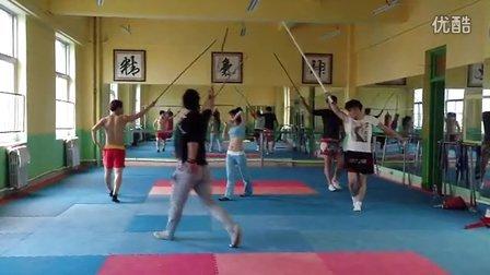 中国武舞组合,排练视频,回顾一下挺好玩的,8
