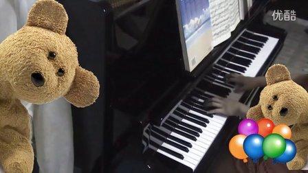 德沃夏克 《幽默曲》钢琴视奏_tan8.com