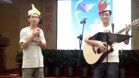 2012上海十院中秋晚会 陈磊磊和烟导压轴歌曲后来和安可的两首歌