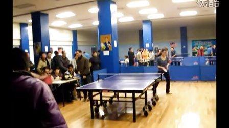 陈潮(浙江理工大学男一号)vs马梦诗(浙江工商大学女一号)