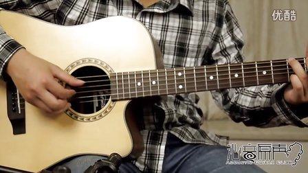 拉维斯 Nightwish N550D 单板民谣吉他评测试听 沁音原声录制