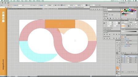 Adobe Illustrator Logo设计与制作必杀技 -几何体裁剪