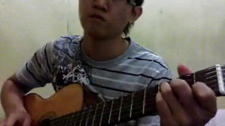 我爱的人 - 陈小春 - 吉他独奏 - handoyomia