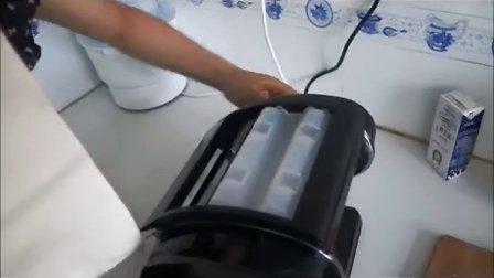 墅乐电动面条机 压面机实拍操作视频-方寸国际