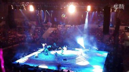 2012年9月29日梁静茹福州演唱会现场