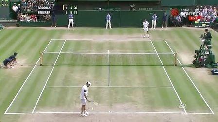 2009 温网决赛 费德勒vs罗迪克