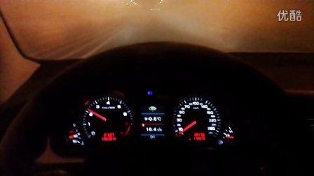 实测一汽奥迪 A6L 2.8 Quattro 0-100公里加速