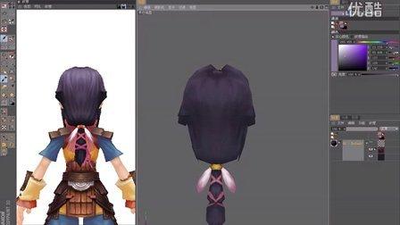 3D卡通角色第十二节贴图绘制-头发绘制与提交整理