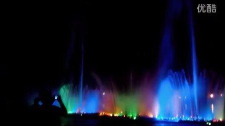 遗爱湖喷泉