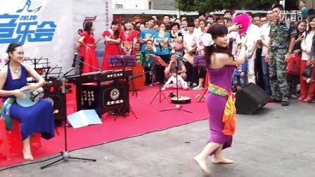 《Eleen Kim's 视界》 中东鼓指拨扇子融合舞蹈 Catherine
