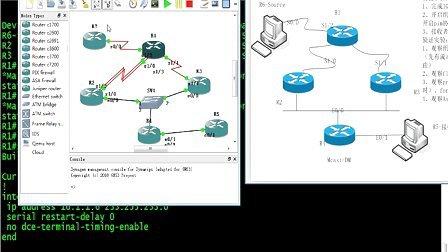 Yeslab安德CCIE组播技术7 PIM dense-mode配置和概述