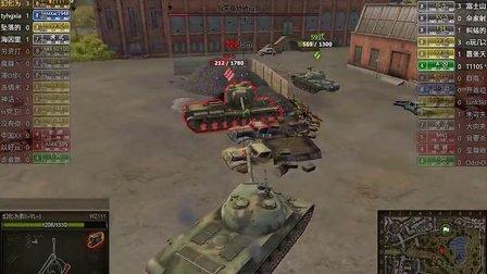 刘局长新手坦克世界娱乐解说04--WZ111 查迪伦25T