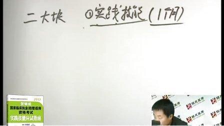 【刘瑞】2013执业医师规划01