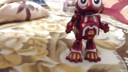 快乐酷宝收藏版电镀玩具
