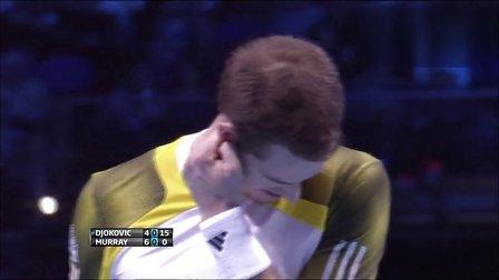 2012 年终总决赛RR 德约科维奇vs穆雷