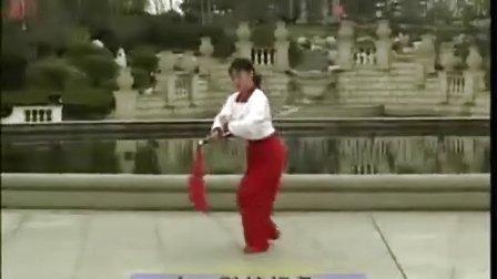 24式 木兰花刀飞刀迎凤 侧面带字幕
