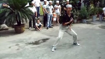 2012周口市陈州街清真寺开斋节心意拳表演DSCF5894