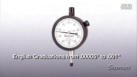 Starrett 25 Series AGD 2 表盘式指示表