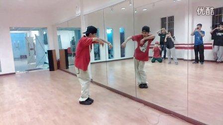 Mega Soul - ADAM(小生) Hip-hop 教课视频 20120815