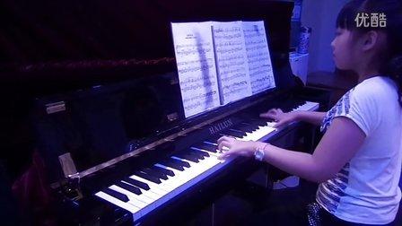 潘佳怡小朋友钢琴独奏《出埃及记》