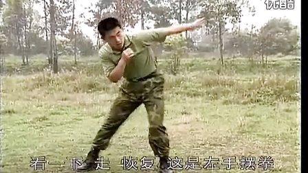 刘毅 特种兵搏击擒拿训练 拳肘技术B