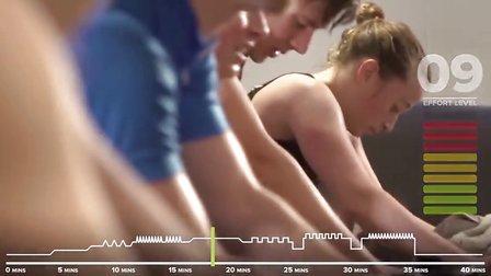 GCN动感单车系列 - 40分钟翻山越岭级训练课程
