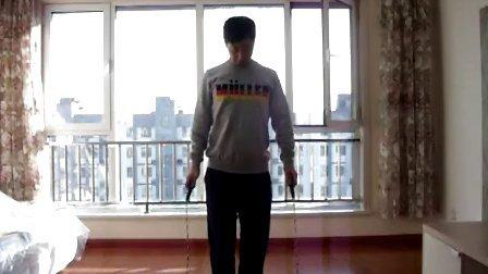巧手教跳绳(第一弹)跳绳正确姿势.三个脚花动作