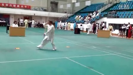 南昌太极棍比赛视频--李作明