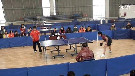 德阳市职工运动会乒乓球团体 广汉VS什邡一队1