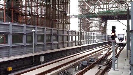 杭州地铁一号线临平支线翁梅高架站!