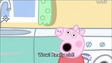 粉红猪小妹英文 Pappa pig  S1E21_妈妈猪的生日