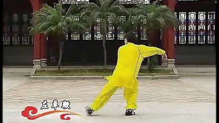 陈式太极拳国标三段单练套路