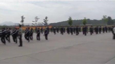 05.辽东学院附属中专丹东市民族学校2012级新生军训-8月24日
