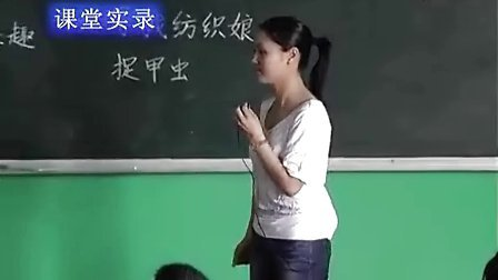 三年级语文北师大版《装满昆虫的口袋》课堂实录与教师说课