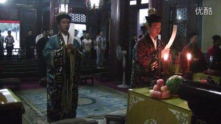 北京白云观2012中元节祝寿