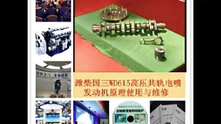 潍柴国三WD615高压共轨电喷电控发动机使用维修