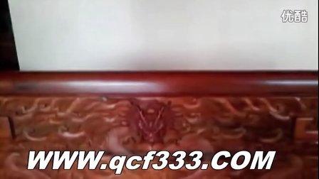 电动餐桌红木双人椅
