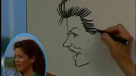 美式卡通画12怎样给真人画卡通肖像